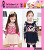 Spring Girls Floral Dresses Cloth Kid Clothes Fashion Girls Floral Dresses