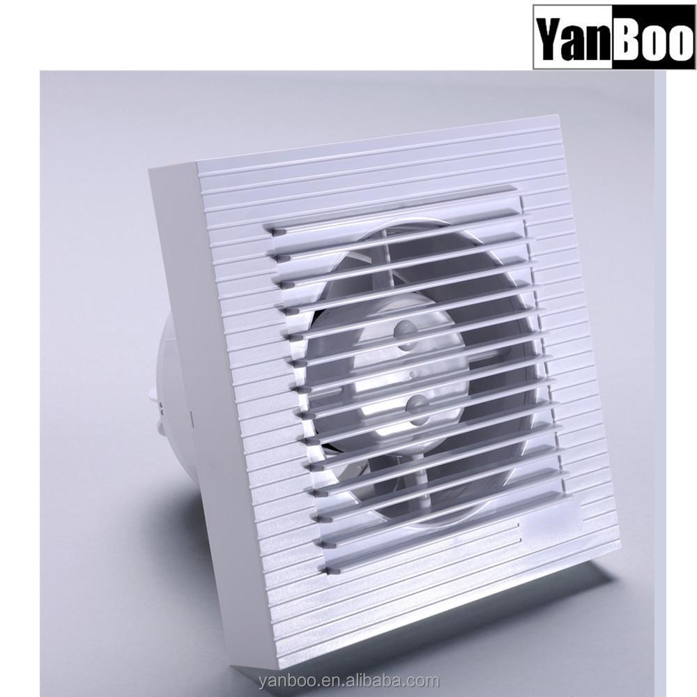 Ce Certified Abs Plastic Ceiling Mounted Ventilation Fan Kitchen Wall Exhaust Ventilation Fan