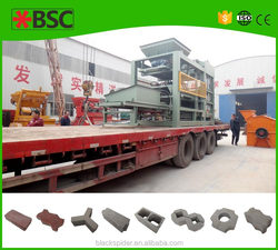 QTJ6-20-129 soil brick manufacturing machine