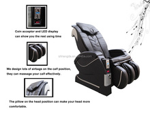full body coin operated vending massage chair/sex massage chair cushion CM-03A