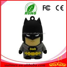 2015 New design America Captain Superman Spiderman Batman Green Lantern Cartoon USB Flash Drive