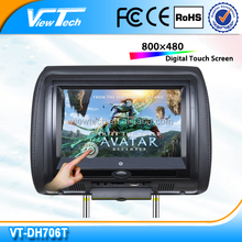 cheapest 7 inch TFT lcd car dvd player with built in IR/FM