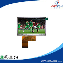 tft 4.3 inch tft lcd touch screen module with capacitive RGB