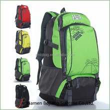 New design large capacity outdoor hiking backpack travel bag