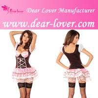 Sexy Halloween Maid German Beer Girl Costume