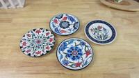 4 kind of ceramic home decorate plate