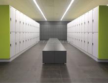 Fumeihua compact hpl locker room 2 tier lockers