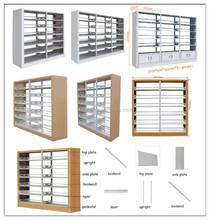New Design Good Quality Steel Book Shelf, Bookshelf, Magazine Rack for School Furniture or libary Magazine Shelf