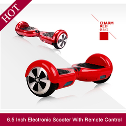 High Quality 500W 48V 6.5 Inch Self Balancing Electric Scooter With Remote Controller