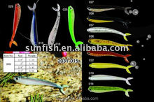 soft lure double color hand poured 2031