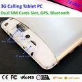 Tableta la ranura para tarjeta PC 3g sim