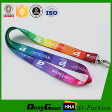 Buy customized printed polyester bulk lanyards with compatitive price from china