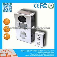 Sport Camera Mini Dvr Solar Camera Alarm With Video Record and Solar Panel