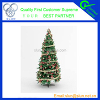 High quality PVC happy Merry christmas artificial christmas tree parts hot selling