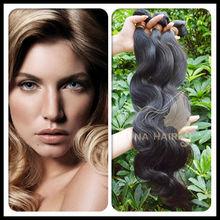 Alibaba Mona 2014 Clip-in Hair Extensions 100% Brazilian Hair Can Make Clip-on Hair Extension