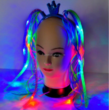 Halloween led flashing noodle headband SJNH-002