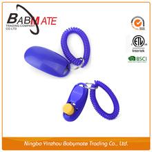 china pet supplies Adjustable plastic New type dog clicker