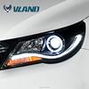 Professional China supplier car headlight manufacturer of vw tiguaqn car auto accessories headlight light for tiguan