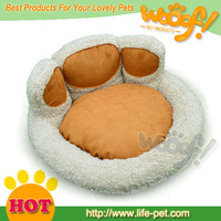 Hot selling pet dog products paw shape dog bed