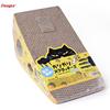 multifunction corrugated cardboard cat scratcher toy with catnip