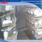 Barato galvanizado soldado agrícolas coelho gaiola de malha de arame com preço de fábrica