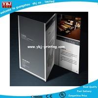 beautiful colorful cheap catalog/brochure printing