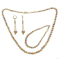 Fashion Gold African Beads Jewelry sets Wholesale Beads Bridal Jewelry Set Wedding Jewelry Set