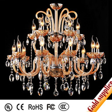 crystal hall lighting fancy light manufacturers in china make crystal chandelier