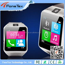 "Hot sale Multi-Function Wireless Bluetooth 3.0 GV08 Smart watch On Wrist GV08 MTK6260A 1.5"" TFT quick shipping"