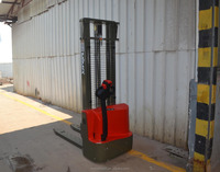 walking type electric stacker with Lifting height:2500mm-3000mm