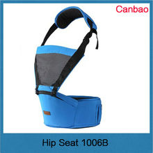 comfortable fashion new design hot selling baby hip seat baby carrier Blue
