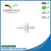mini plastic one way aquarium air pump membrane valve