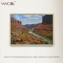 Hand made modern wall art on canvas oil painting natural landscape