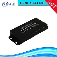 HDMI Splitter 1x2 1 in 2 out support Full HD 3D 4KX2K China suppliers that accept paypal