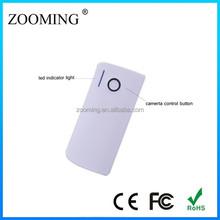 Mixed Color 4000mah Bluetooth Selfie Power Bank For Macbook Pro /Ipad Mini