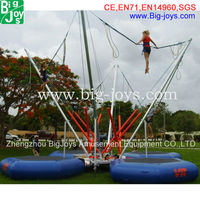 CE Adult Jumping Bungee For Sale, China Bungee Jumping Machine Supplier, Mobile Bungee Jumping Equipment