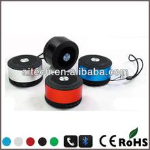 venta al por mayor de alta fidelidad 2014 mini bluetooth spaker con pequeñas cubo de rock pero de sonido