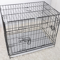 Pet Bed Iron Dog Cage Lock,Folding Dog Cage Used,5 KG Large Dog Cage