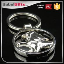 Factory direct sale custom metal bullet keychain