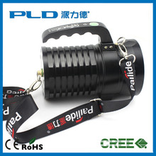 Super bright built-in rechargeable battery design 10 watt tough miner led flashlight