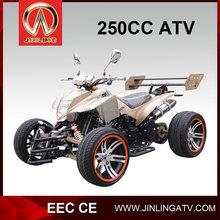 250cc four wheel atv quad racing