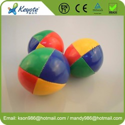 6cm Factory Price Spandex Lycra 3 Professional Juggling Ball