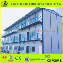 Manufacture of single story best design top quality long life span prefab house