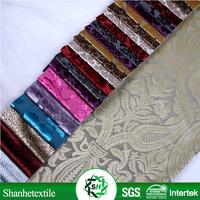2015 Latest Design jacquard continuous curtain fabric