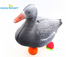 rolling and laughing animals, motion goose decoy, decoy weights