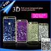 3D full cover tempered screen protector for iphone6, for 3D iphone6 screen protector