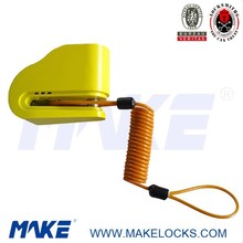 MK617-5 High security anti theft alarm bike lock