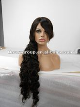 2012 best seller 30 inch 1b# mono lace wig hot!!