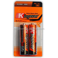 High Quality AA Super Heavy Duty Battery/R6 Battery