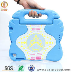 New coming shockproof eva tablet case for ipad air ,for ipad air 2 case with handle stand